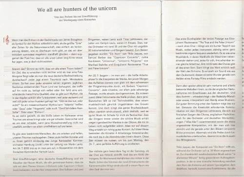 journal d'ami Ausgabe 1 (Herbst, Winter 2000)