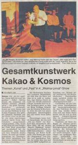 Thüringische Landeszeitung (TLZ) vom 27. August 2001