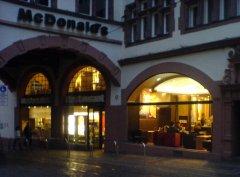 McDonald's in Freiburgs Martinstor