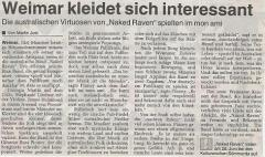 Thüringische Landeszeitung (TLZ) vom 27. Juni 2002