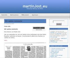 martinJost.eu im Stil des Themes Contempt.