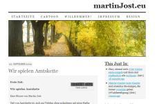 martinJost.eu mit dem Theme »PressRow«