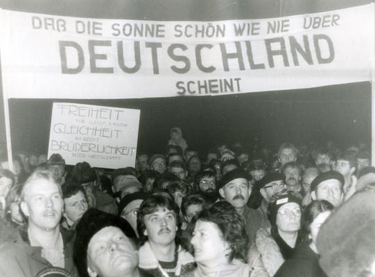 Der 21. November 1989 in Weimar