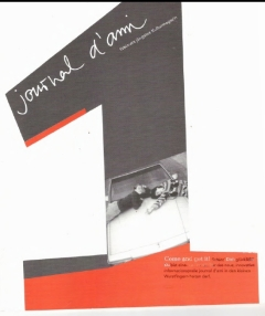 journal d'ami No. 1 (Herbst, Winter 2000)