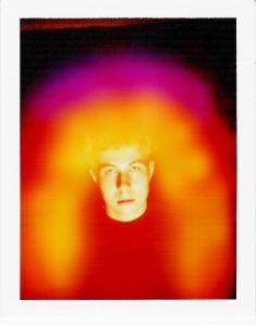 Martins Aura auf Polaroid