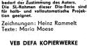 Heinz Rammelt und Maria Moese