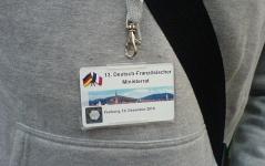 13. Deutsch-Französischer Ministerrat am 10. Dezember 2010 in Freiburg – Lukas' Ausweis