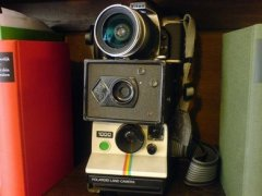 Drei Fotoapparate