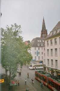 Bertoldsbrunnen 18. Juli 2004