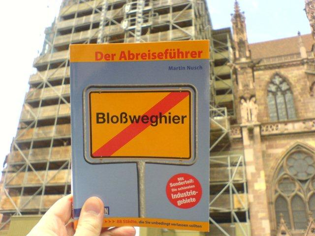 Buchcover vor Dauerbaustelle Münster