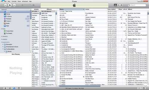 iTunes-Library-Screenshot