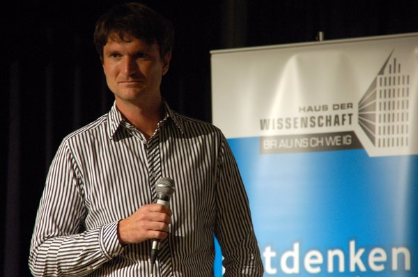 Markus Weißkopf vom Haus der Wissenschaft Braunschweig