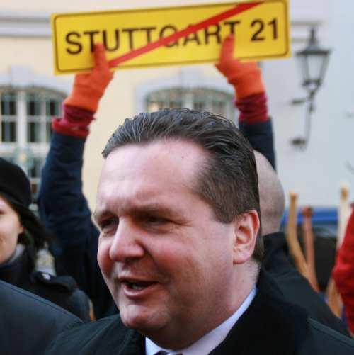 Stefan Mappus Stuttgart 21