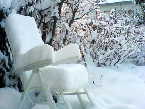 Schneestuhl