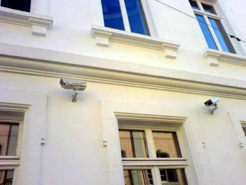 Überwachungskameras Landgericht Freiburg