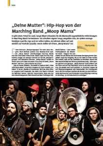 Gedruckt in der «blasmusik» • Ausgabe September 2012