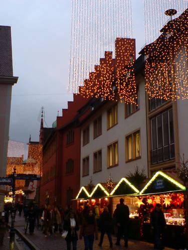 Weihnachtsmarkt Freiburg 2012