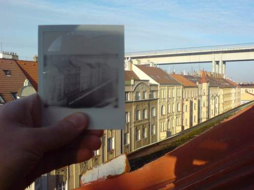 Prag doppelt Polaroid