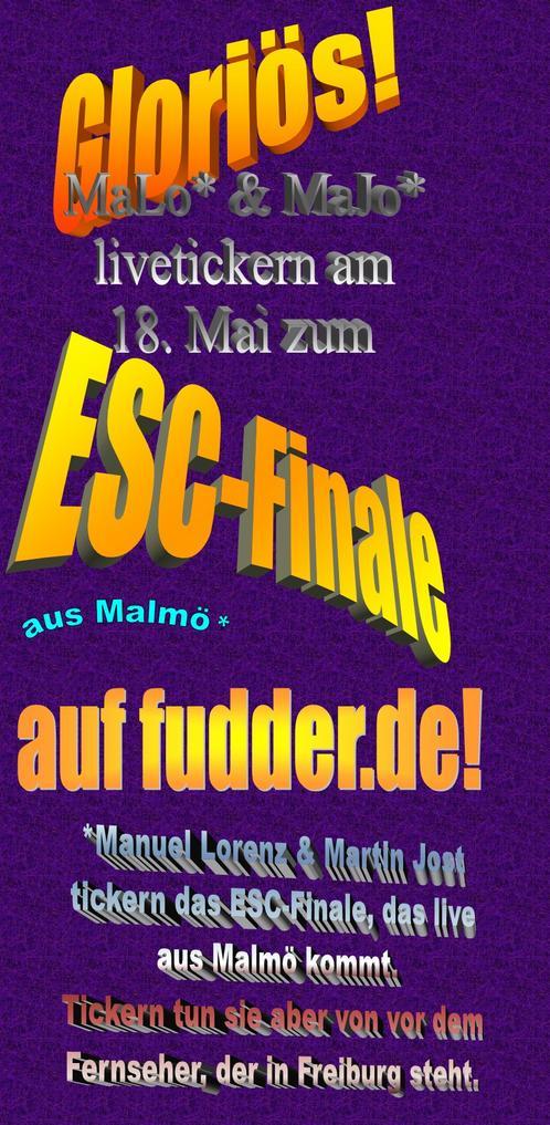 Ankündigung ESC-Finale