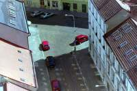 Straßenecke Prag