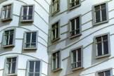 Ebenen moderne Fassaden Prag