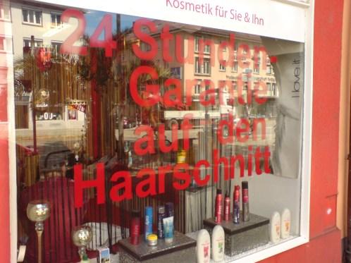 24-Stunden-Garantie auf den Haarschnitt