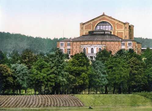 Festspielhaus Bayreuth um 1900
