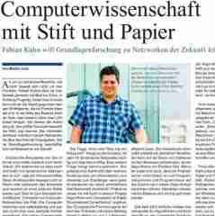 Computerwissenschaft mit Stift und Papier web