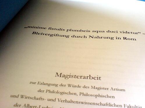 Magisterdeckblatt