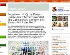Interview mit Cyrus Farivar